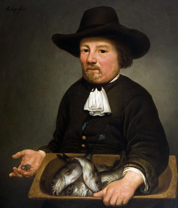Продавец рыбы. Альберт Кёйп