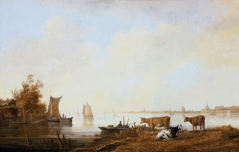 Вид Мааса близ Дордрехта. Aelbert Cuyp