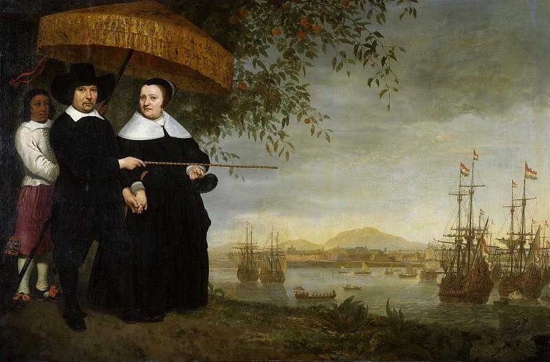 Портрет Якоба Матейсена с женой. Aelbert Cuyp
