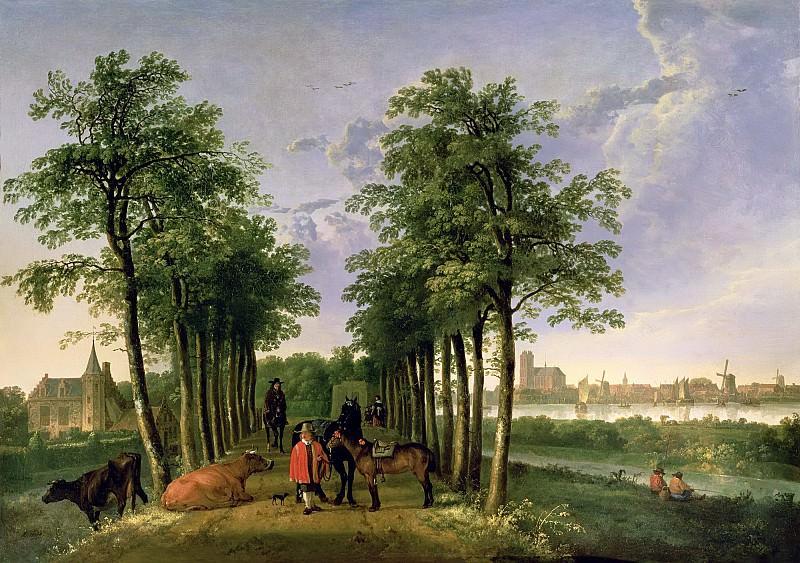 The Avenue At Meerdervoort. Aelbert Cuyp