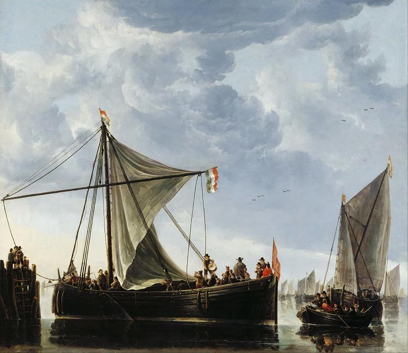 Лодки у пристани. Альберт Кёйп
