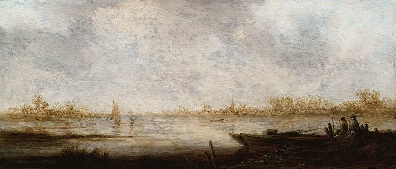 Речной пейзаж. Альберт Кёйп