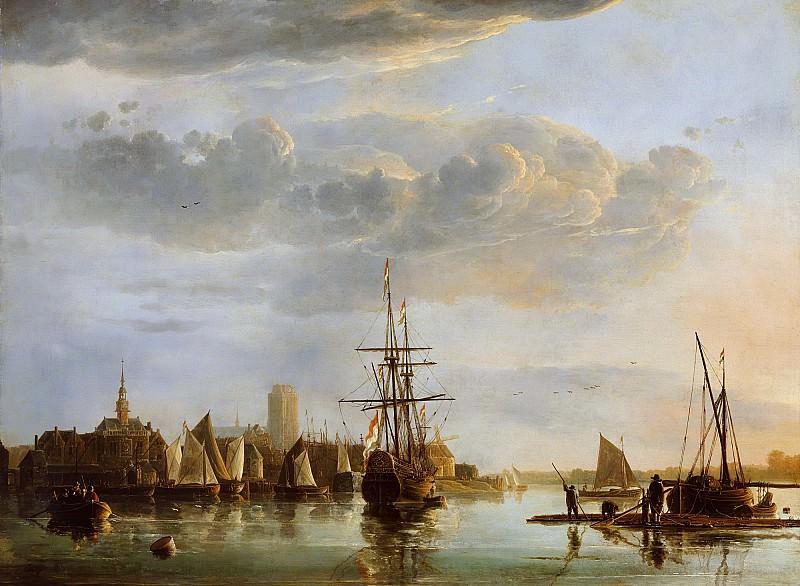 View Of Dordrecht. Aelbert Cuyp