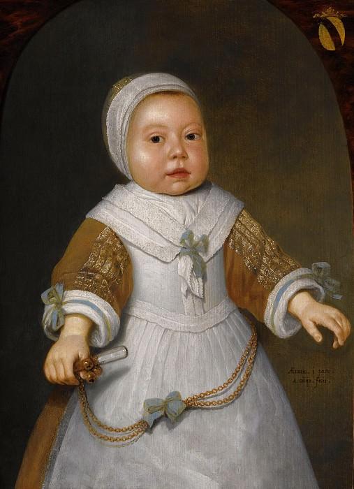 Портрет ребенка из семейства ван дер Бурх. Aelbert Cuyp