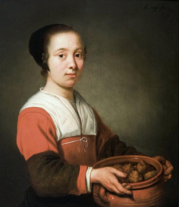 Служанка с пончиками. Aelbert Cuyp