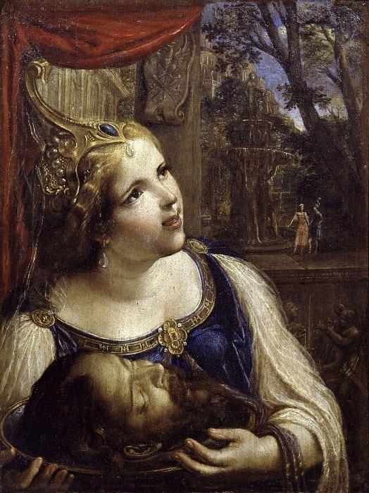 Саломея с головой Иоанна Крестителя. Анджело Карозелли