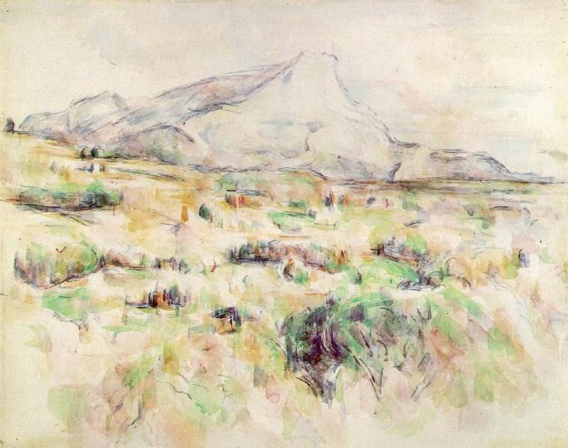 Mont Sainte-Victoire (MOMA). Paul Cezanne