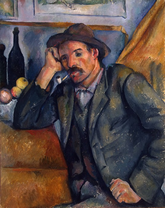 Smoker. Paul Cezanne