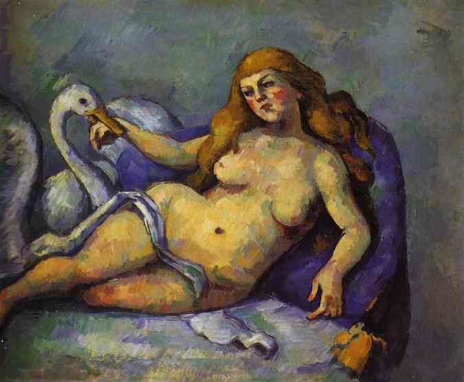 Leda with Swan. Paul Cezanne