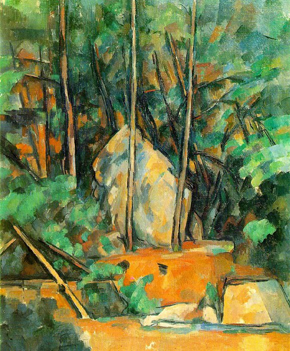 The Cistern in the Park at Chateau Noir. Paul Cezanne