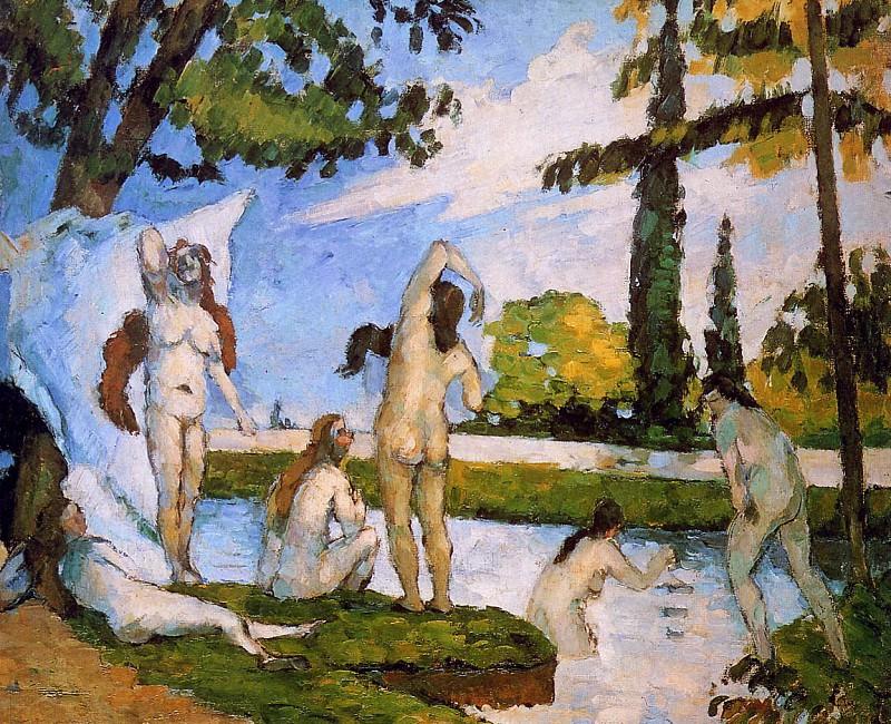 The bathers. Paul Cezanne