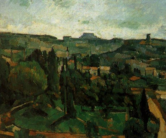 PAYSAGE DILE DE FRANCE, 1879, OIL ON CANVAS. Paul Cezanne
