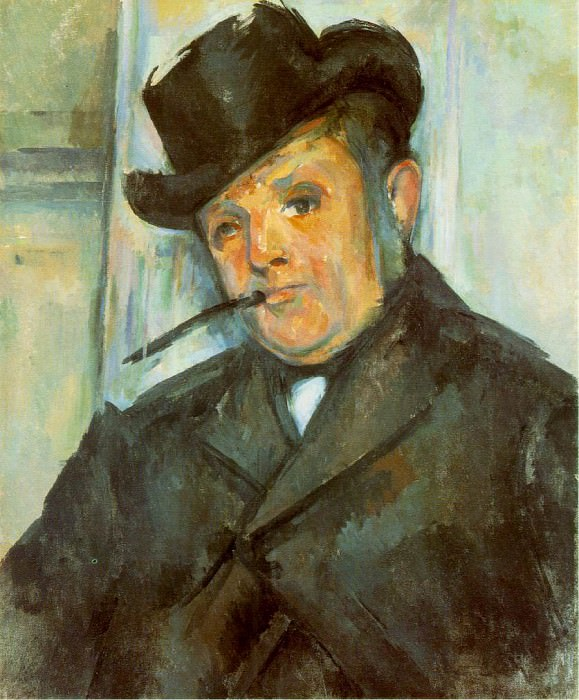 PORTRAIT OF HENRI GASQUET,1896-97, MCNAY ART INSTITU. Paul Cezanne