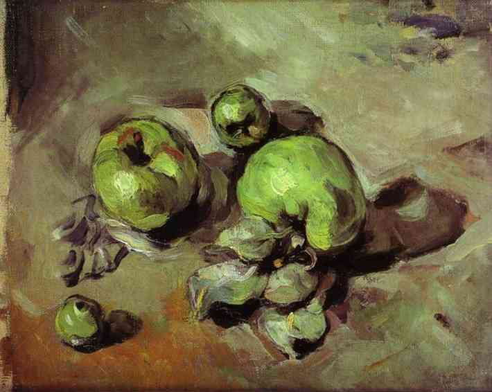 Green Apples. Paul Cezanne