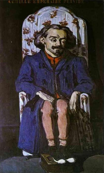 Achille Emperaire. Paul Cezanne