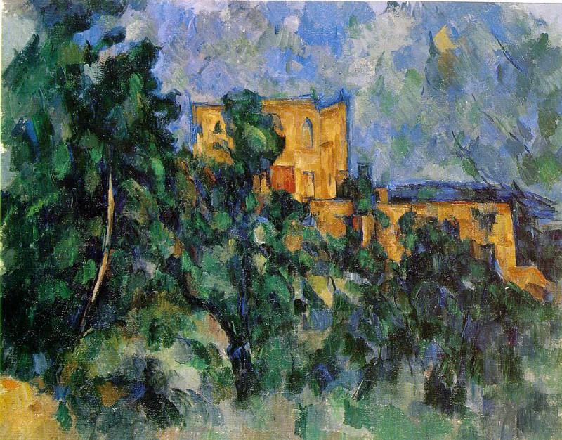 Chateau Noir (MoMA). Paul Cezanne