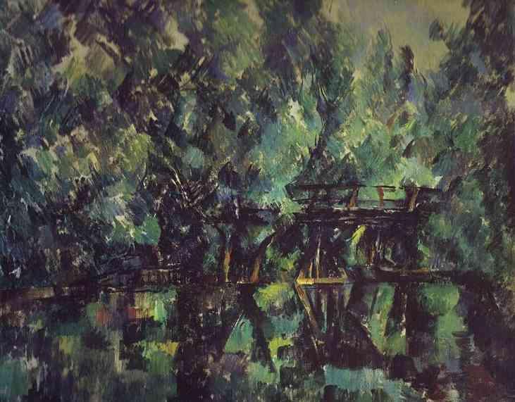 Bridge and Pool. Paul Cezanne