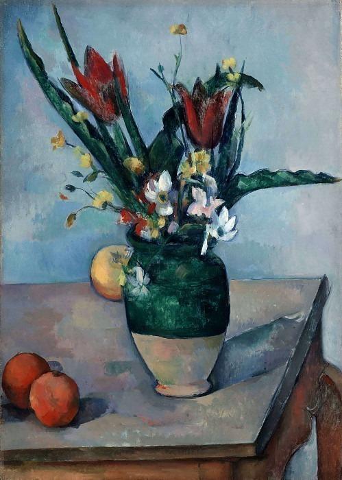 Ваза с тюльпанами, 1890-92. Поль Сезанн