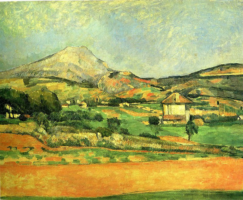 Mont Sainte-Victoire Plateau. Paul Cezanne