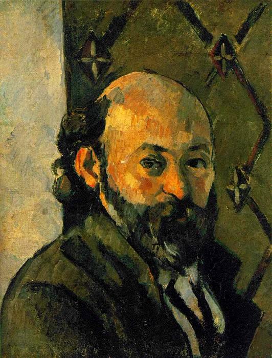 Selfportrait, ca 1879, 5x27 cm, Tate gallery. Paul Cezanne