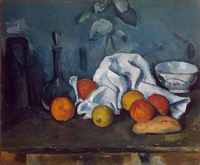Fruit, Ca 1879, 45x55.3 cm, Eremitaget. Paul Cezanne