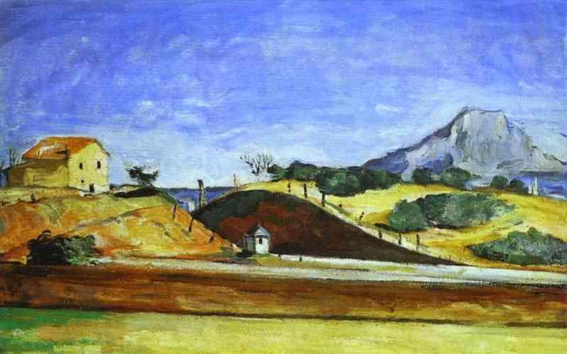 The Railway Cutting. Paul Cezanne