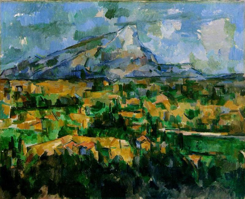 Mont Sainte-Victoire (Philadelphia). Paul Cezanne