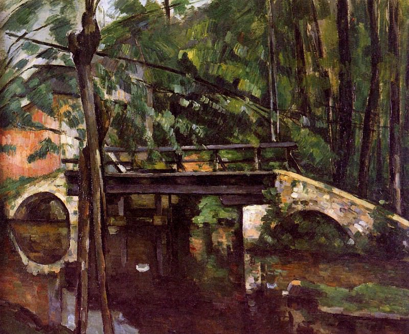 The bridge of Maincy. Paul Cezanne
