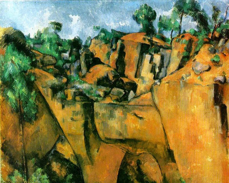 Bibemus Quarry. Paul Cezanne