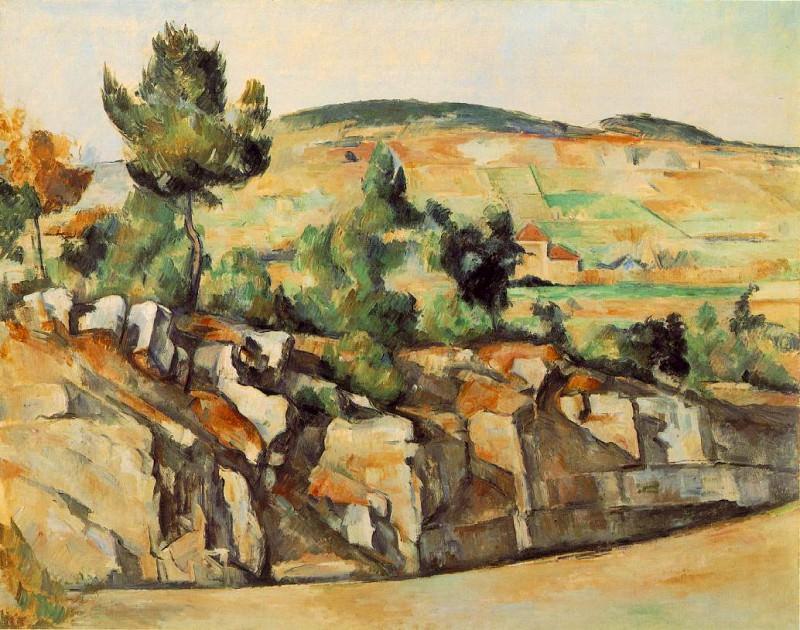 MONTAGNES EN PROVENCE,1886-90, NG LONDON.Venturi 491. Paul Cezanne