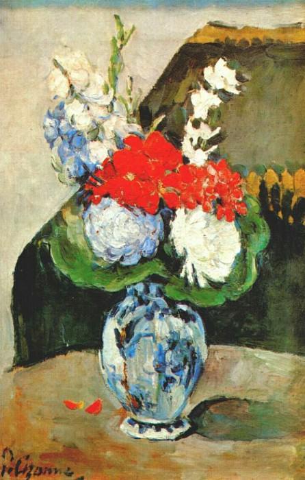 small delft vase 1873-5. Paul Cezanne