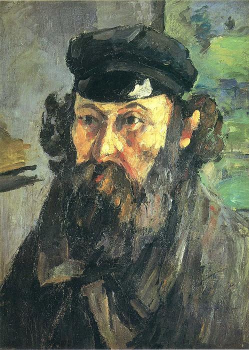 Автопортрет. Paul Cezanne