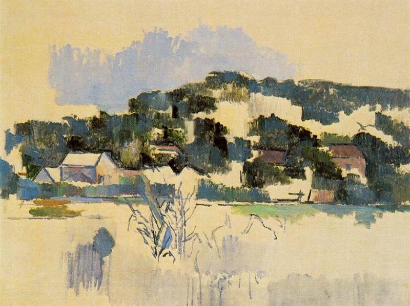 HOUSES ON THE HILL, 1900-06. Paul Cezanne
