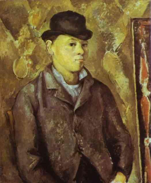 The Artistss Son, Paul. Paul Cezanne