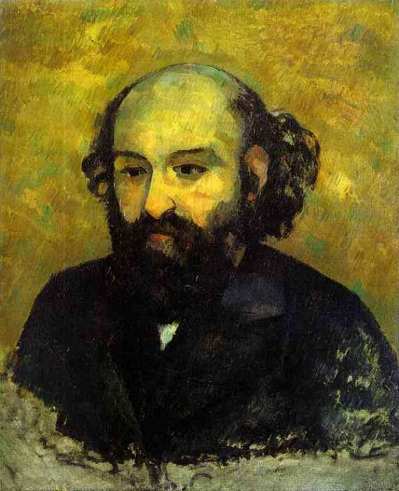 Self-portrait (Hermitage). Paul Cezanne