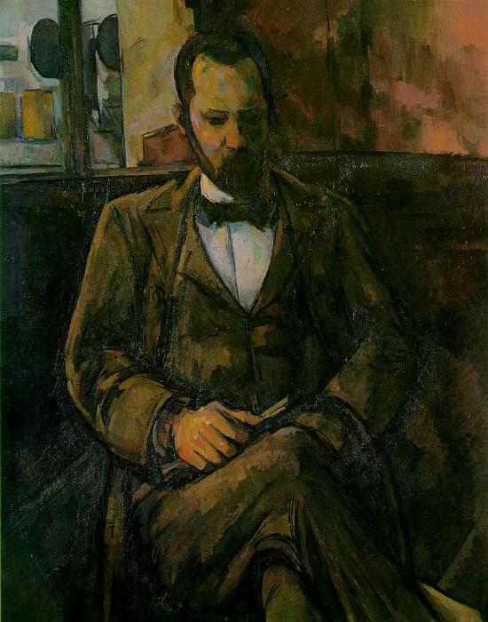 PORTRAIT OF AMBROUSE VOLLARD,1899, MUSEE DU PETIT PA. Paul Cezanne