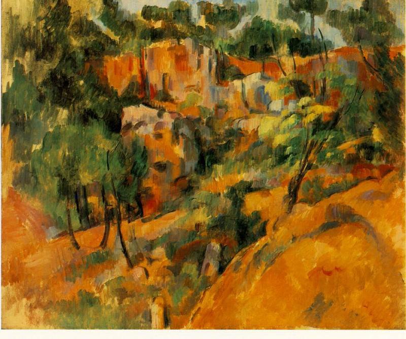 corner-quarry. Paul Cezanne