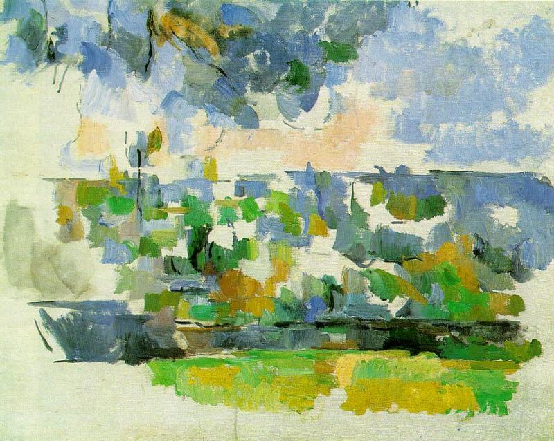 garden-lauves. Paul Cezanne