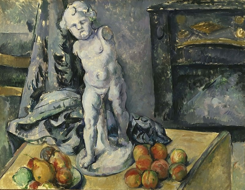 Still Life with Plaster Cupid. Paul Cezanne