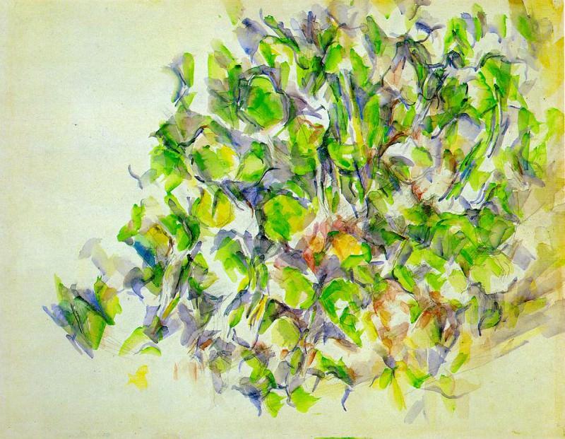 FOLIAGE,1896-1900, MOMA NY. Paul Cezanne