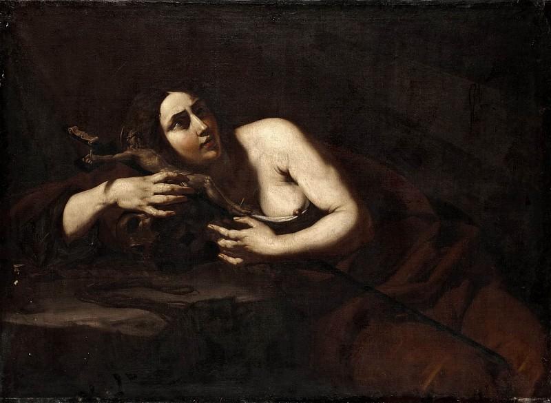 The Penitent Magdalen. Cecco del Caravaggio