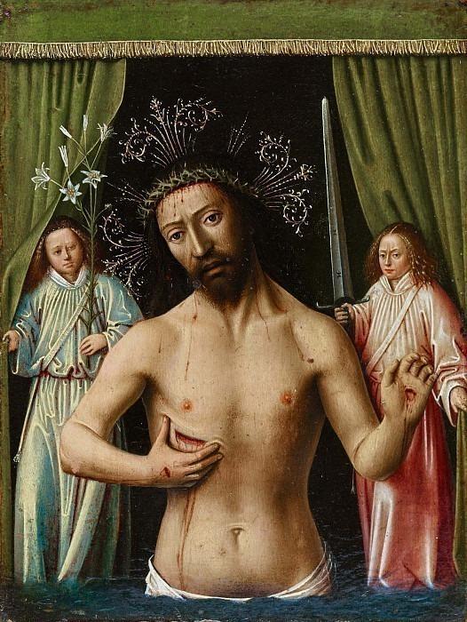 Христос как человек печали (Муж Скорбей). Петрус Кристус