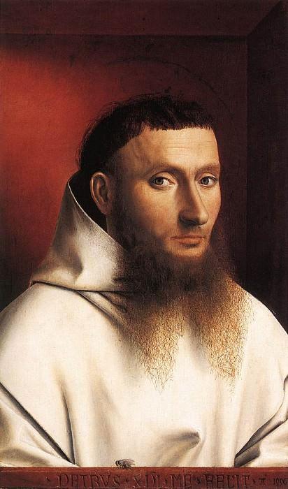 Портрет монаха-картезианца. Петрус Кристус