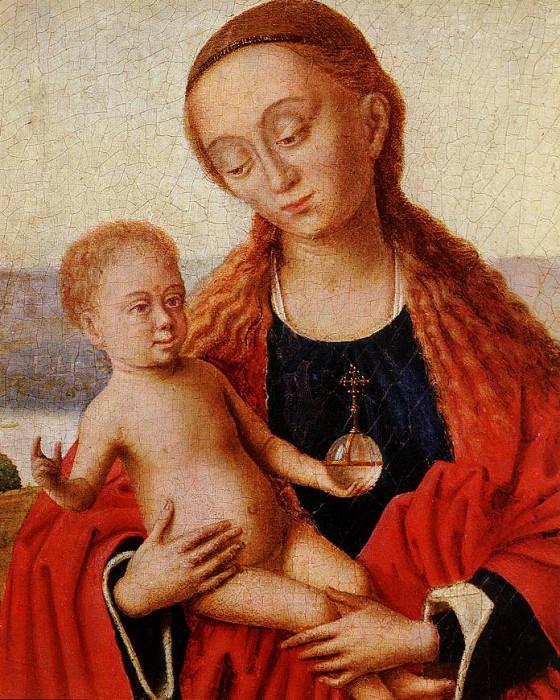 Мадонна, фрагмент. Петрус Кристус
