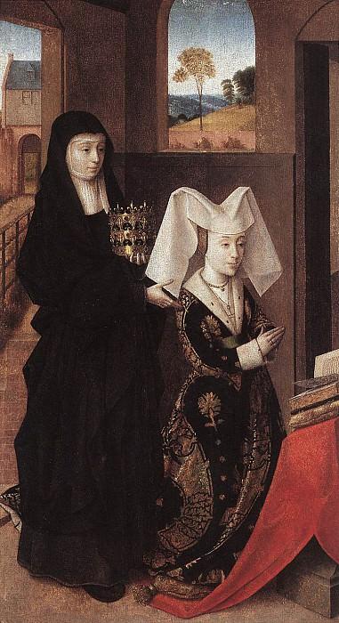 Изабелла Португальская и Св. Елизавета. Петрус Кристус