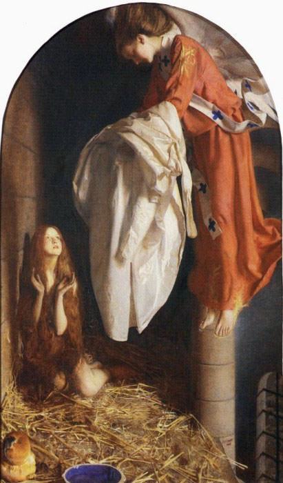 St Agnes in Prison. Frank Cadogan Cowper