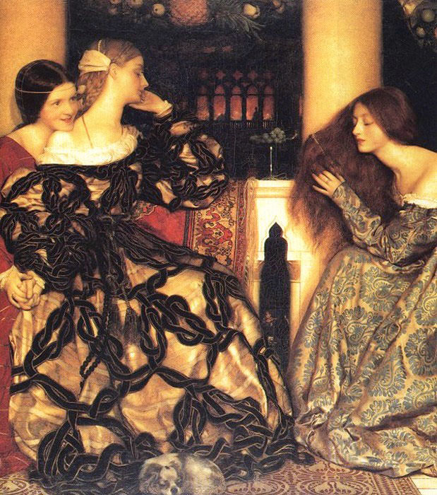 Venetian Ladies Listening to a Serenade. Frank Cadogan Cowper