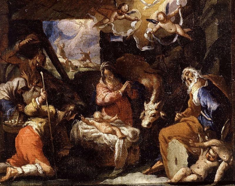 Поклонение пастухов. Валерио Кастелло (окружение)