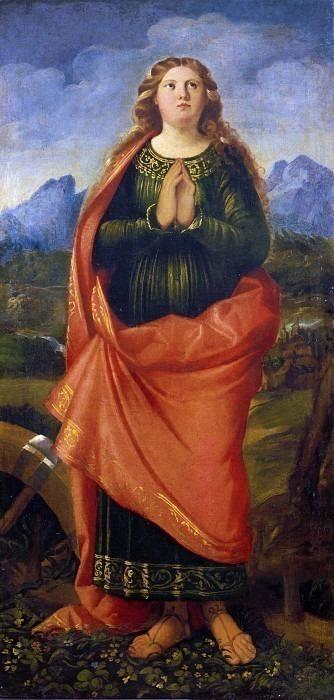 Святая Катерина Александрийская (Триптих Локателло). Кариани (Джованни Буси)