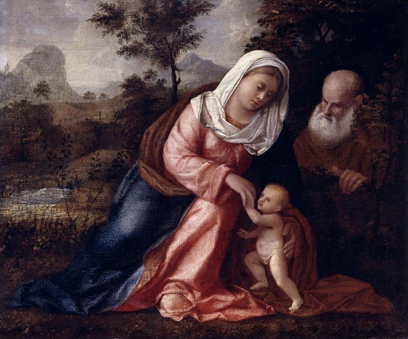 Святое семейство в пейзаже. Кариани (Джованни Буси)
